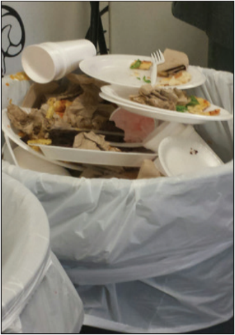 Students dine on Styrofoam until Kennedy's dishwasher repaired