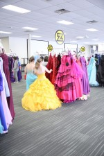 Z102.9's annual Gown Town held at Linn Regional Center