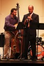 Jazz musicians entertain in honor of alumnus