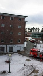 University not responsible for damaged property