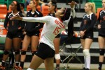 Rattlers volleyball team secures win over Bulldogs