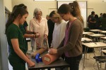 "Nursing students organize ""Stop The Bleed"""