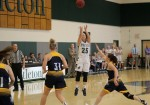 Women's hoops picks up first LEC win