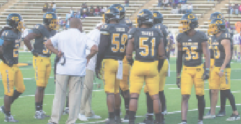 Defensive shutout gives Tigers 40-0 victory