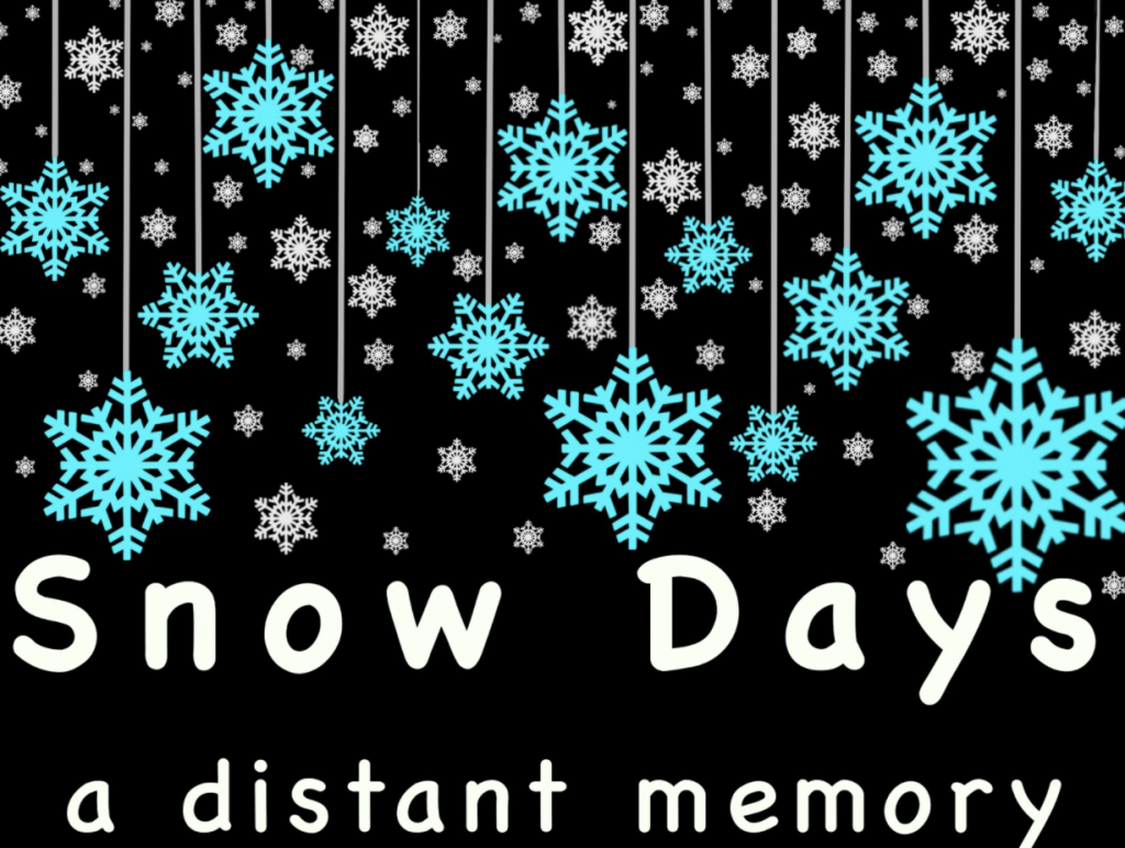 Snow days: a distant memory