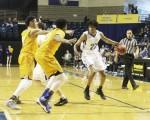 Rams fall to Kingsville, cut game short