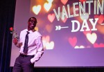 Students auctioned dates at Valentine's Day event