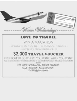 Nicaragua Travel Voucher!