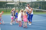 Tennis serves up lessons