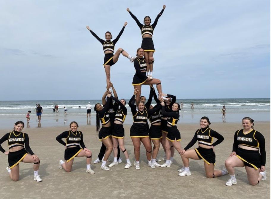 Cheer receives highest program finish at NCA Nationals