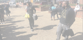 Alpha Phi Alpha hosts Woman's Appreciation on the Yard