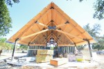 Stephens Chapel nears completion