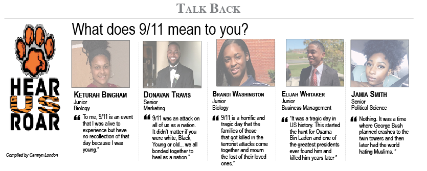 Talk Back: What does 9/11 mean to you?