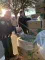 Deputies, Farm Share distribute 15 tons of food