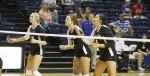 Volleyball team wins a set 3-1