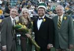 Hinson and Bankston crowned Homecoming royalty