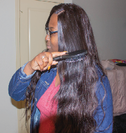 Lace fronts are taking over campus, students express