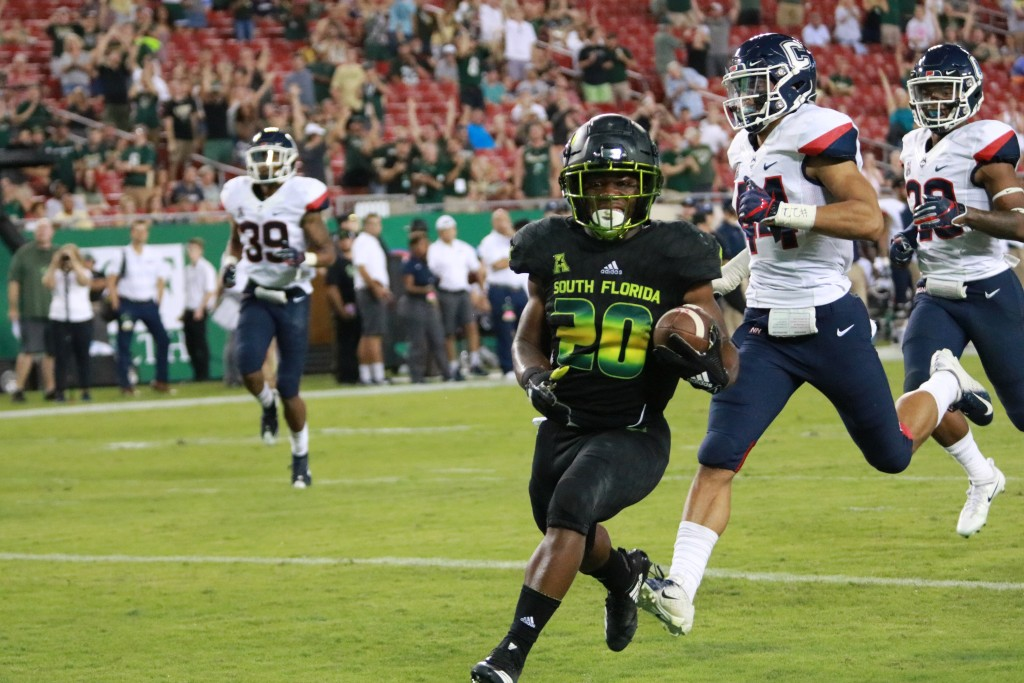 USF's new offense takes shape under Kerwin Bell