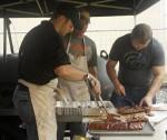Rain or shine, the Hammond Smokin' BBQ Challenge raged on