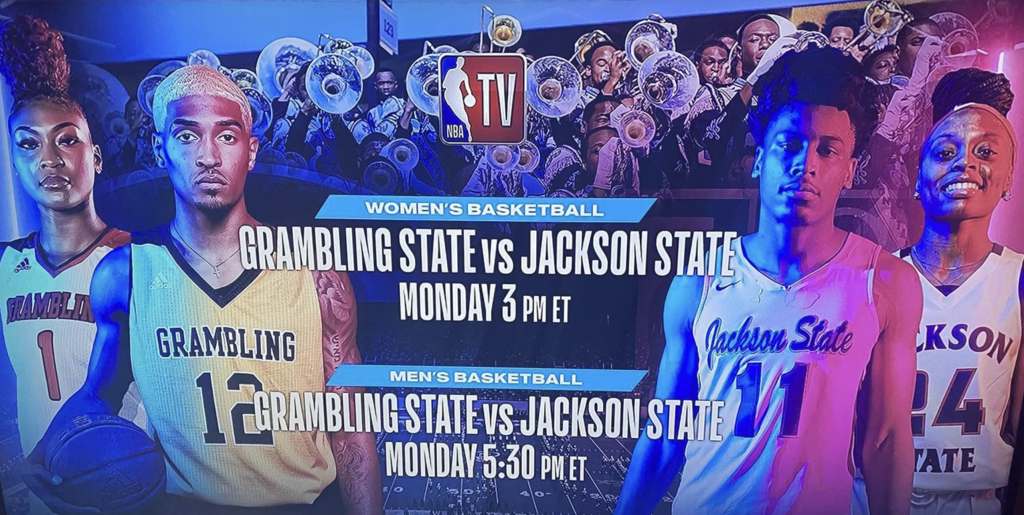 Grambling games being televised on NBA TV