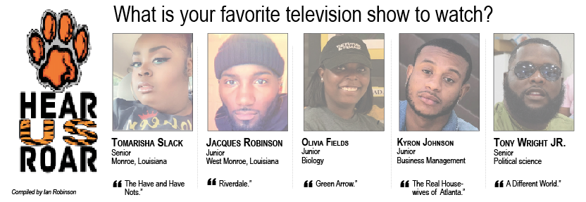 Talk Back: What is your favorite television show to watch?
