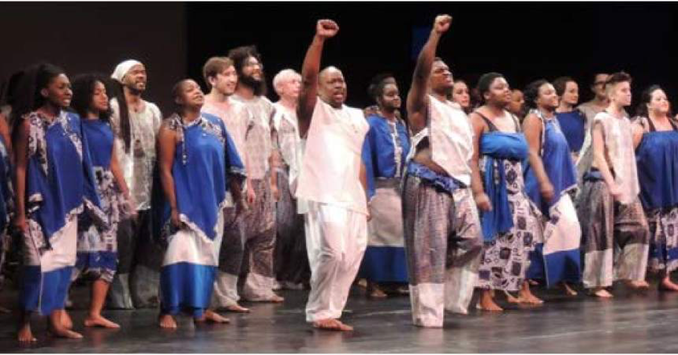 African drum and dance ensemble to take stage at TCC