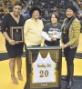 Grambling honors oldest female basketball player