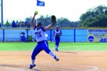 Softball dominates home opener