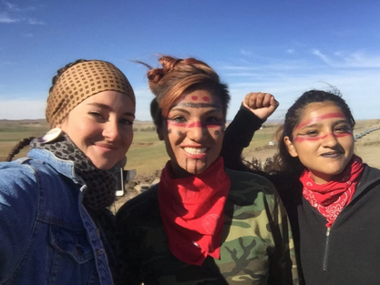 Shailene Woodley's North Dakota pipeline protest leads to arrest