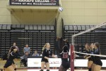 Women's Volleyball Takes Down NJAC Powerhouse Stockton in Four Sets