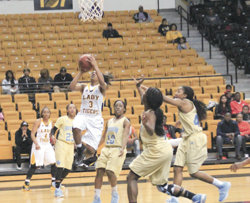 Lady Tigers take 2 at home