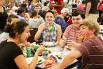 School barbecue succeeds after moving
