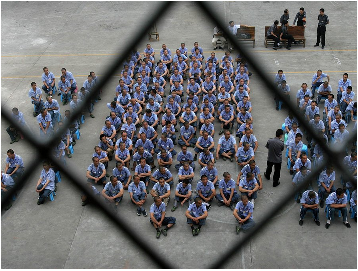 Prison guards join jailbirds in largest strike in U.S. history