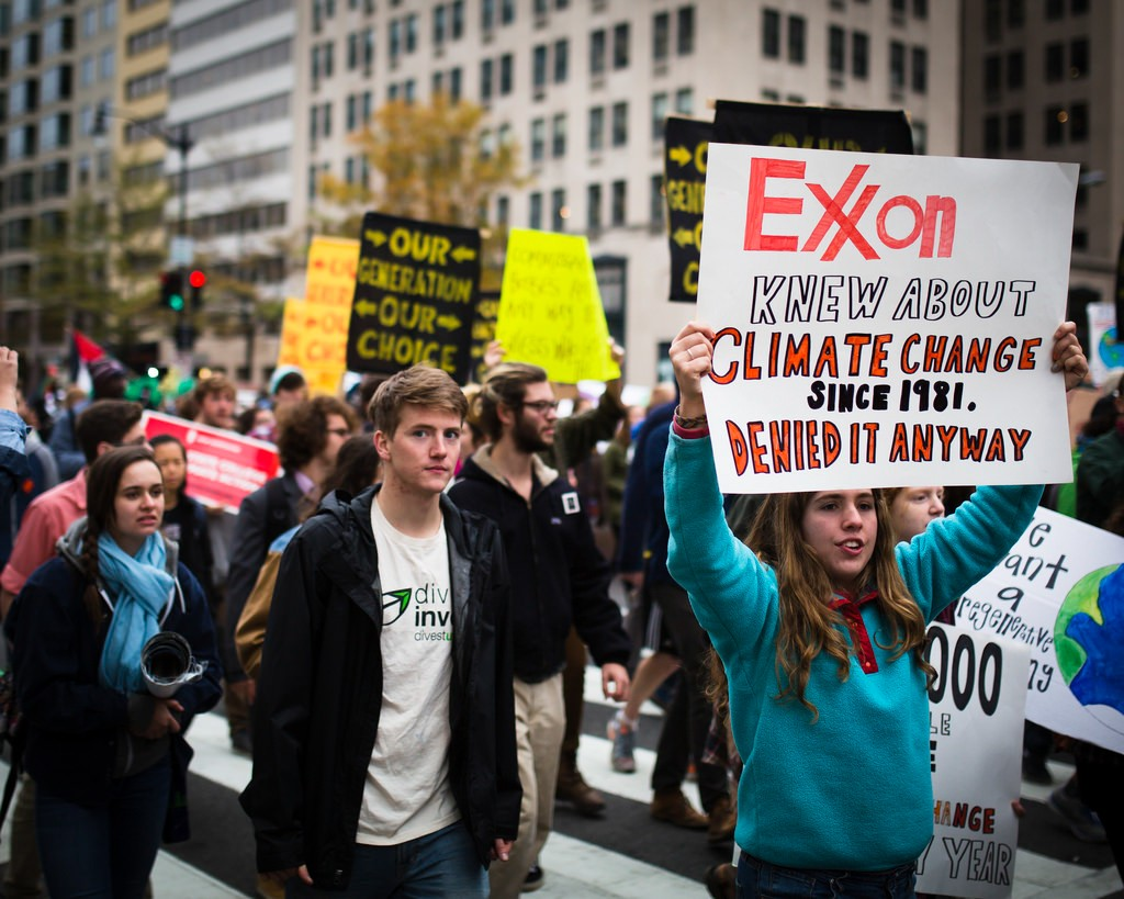 Exxon Mobil misled the public on climate change, new study says
