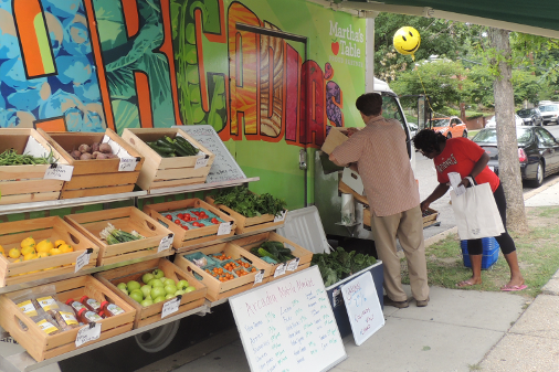 Mobile Market Offers Affordable Fresh Foods