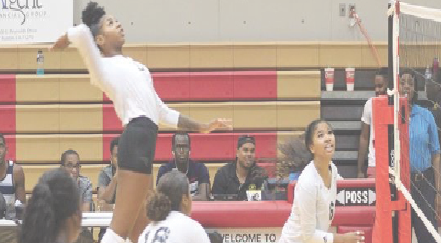 Volleyball team picks up two wins at SWAC Round-up