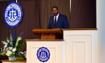 Greatness in adversity, beauty from pressure themes of two Honors Convocation speakers
