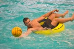 Water polo splashes into biannual event