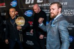 McGregor's fight ends in a brawl with opposing team