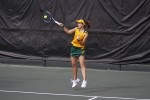 Another victory at home for Lady Lions tennis team
