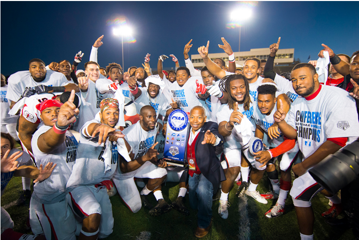 Rams football wins 3rd CIAA title in 5 seasons