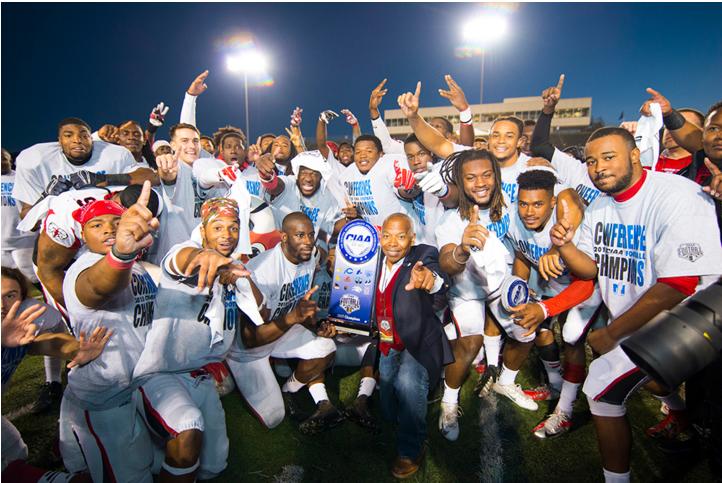 Rams football wins 3rd CIAA title in 5 seasons