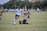 Belles finish season on stormy day