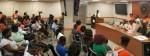 University president speaks at town hall meeting