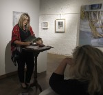 Reading from 'Waterlines' presented