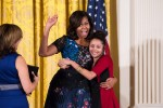 Children Say Goodbye to First Lady Michelle at One of Her Final White House Events