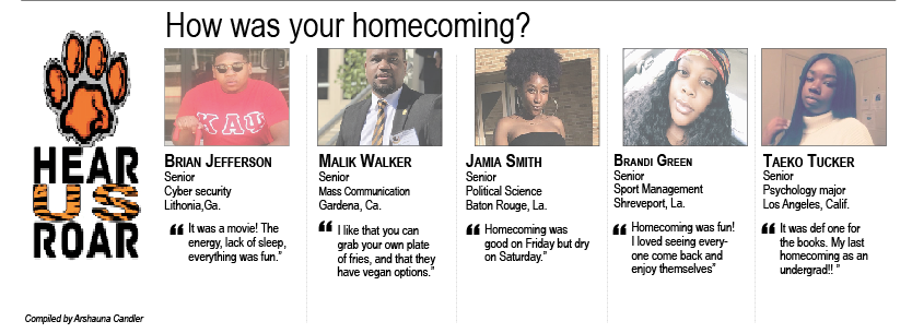 Talk Back: How was your homecoming?
