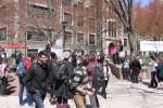 #MillionStudentMarch at 'Berg