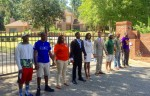 Students protest at FAMU president's house
