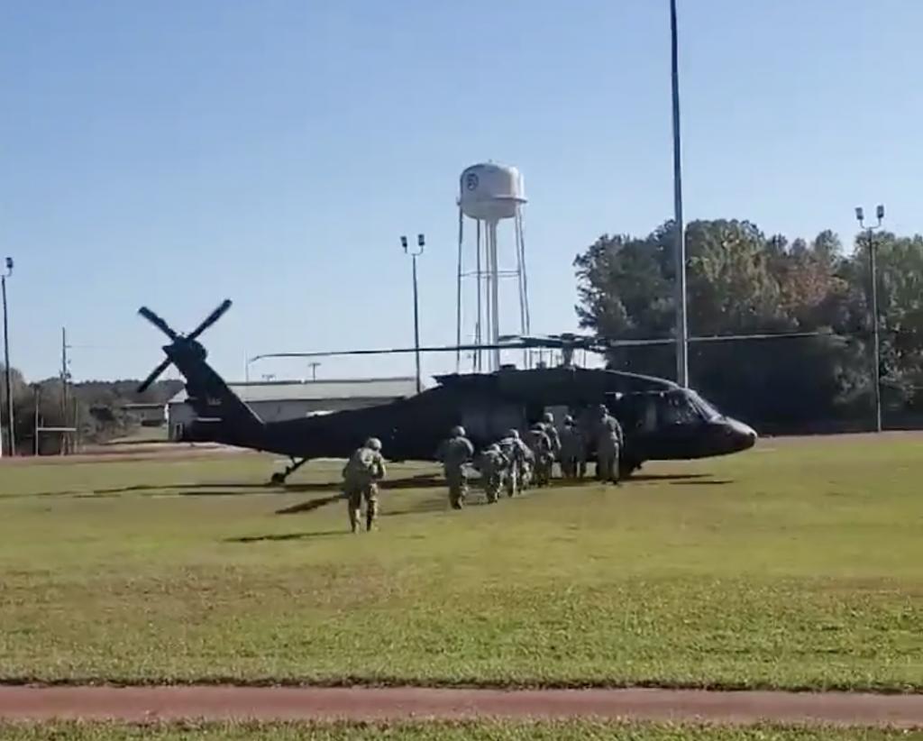 Field training helps sharpen skills of ROTC cadets